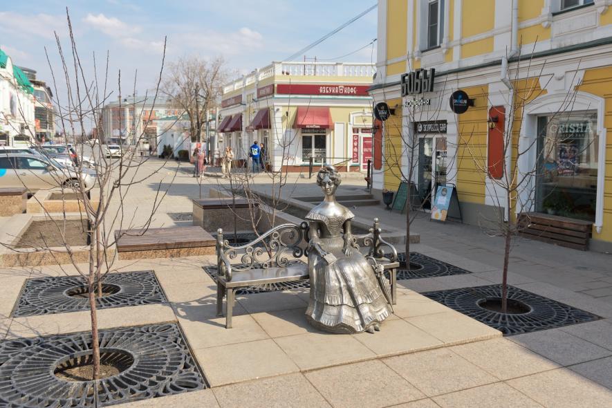 Памятник «Любочка»