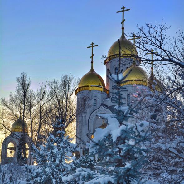 Храм Всех Святых в Волгограде – локация для фото