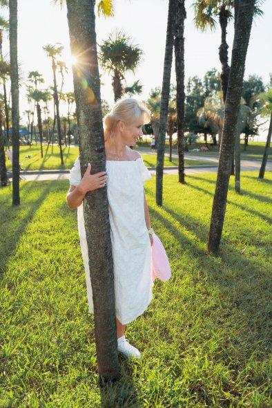 Высокие тропические пальмы