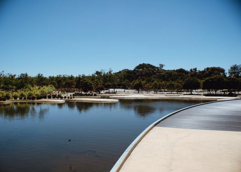 Королевские ботанические сады Кранбурна (Royal Botanic Gardens Cranbourne)