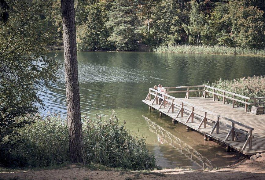 Зеленые озера