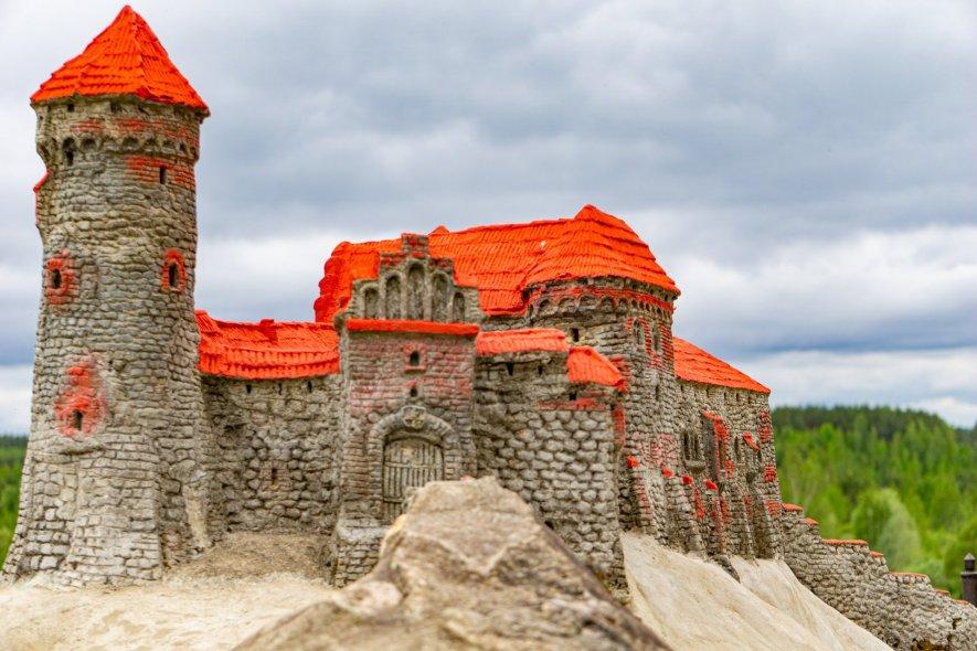 Динабургский каменный замок Ливонского ордена