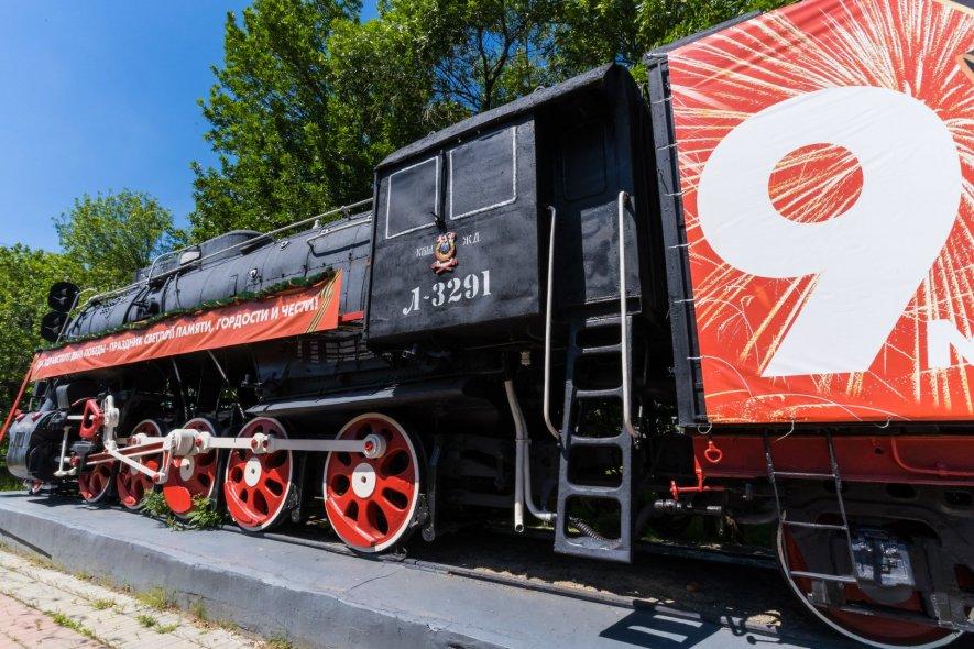 Паровоз Л-3291