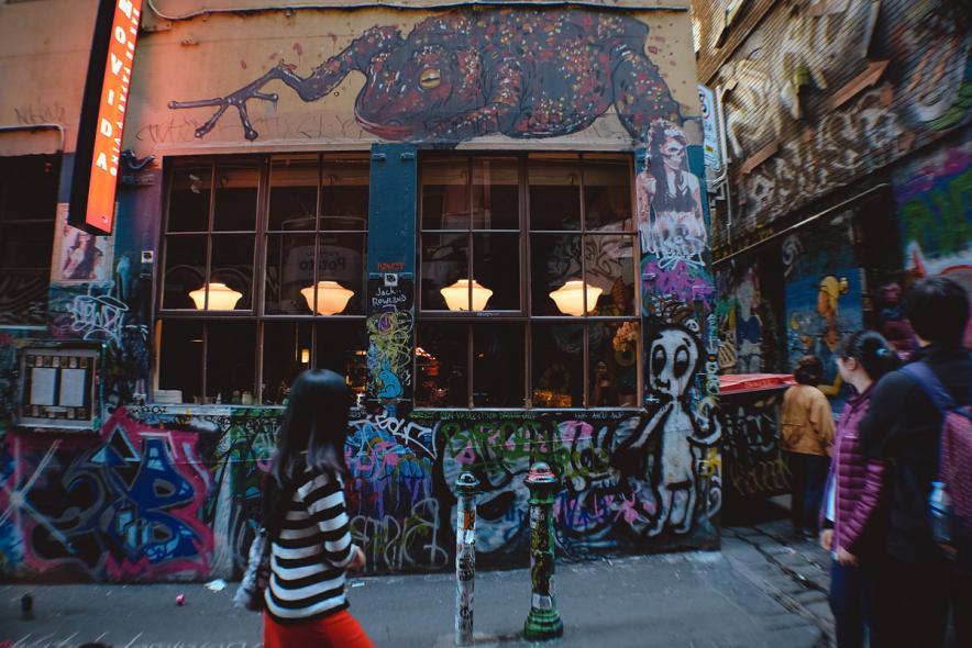 Flinders Court Street Art