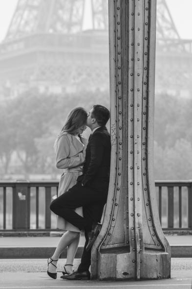 Эйфелева Башня - Мост Бир-Хакейм