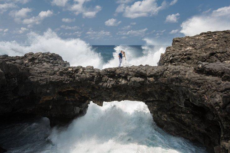 Натуральный природный мост Pont Naturel