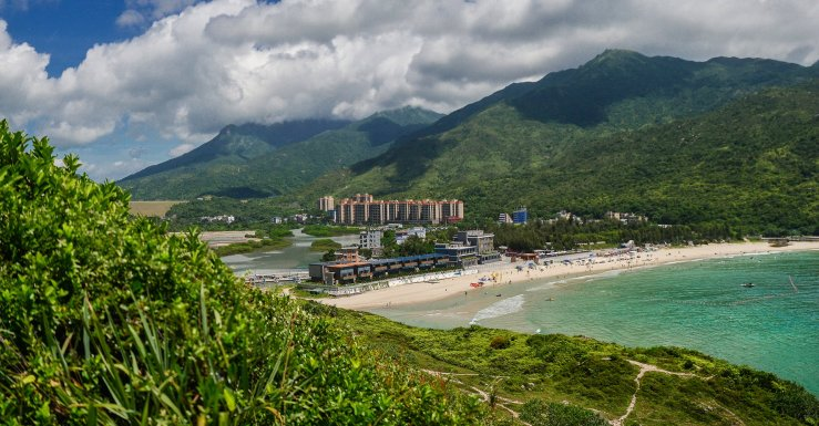 Пляж Dongchong 东涌