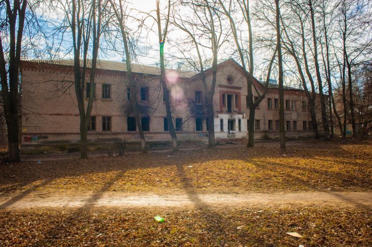 Заброшенная детская больница №6