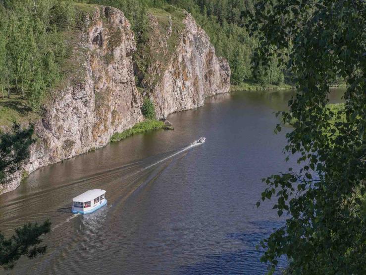 Каньон реки Исеть