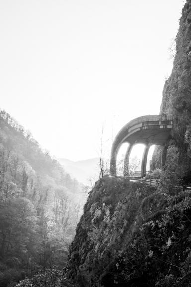 Старая дорога на Красную Поляну