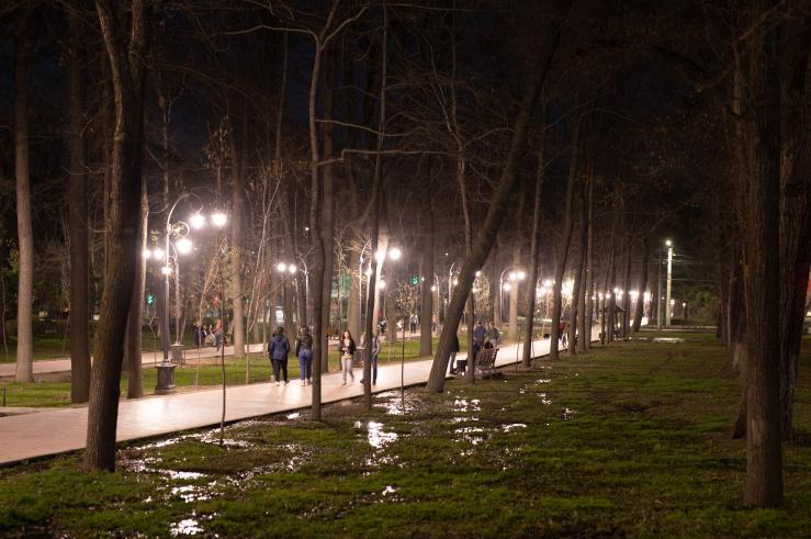 Эркиндик бульвар (Дубовый парк)