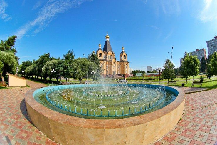 Десногорский фонтан