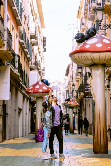 Улица грибов
