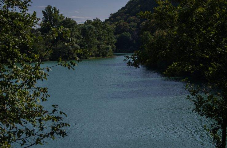 Набережная реки Белая