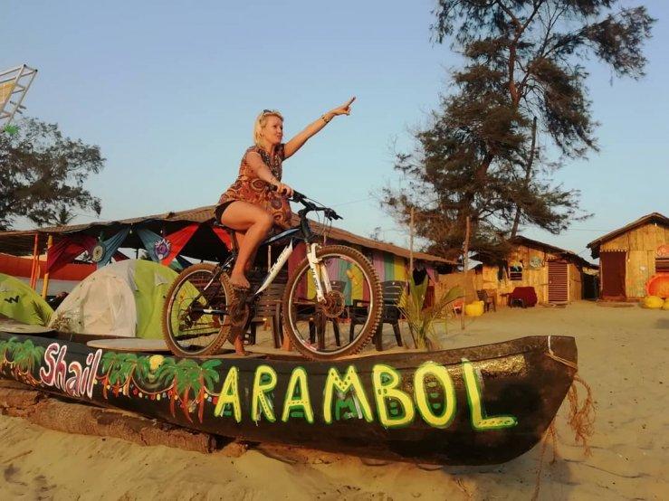 Пляж Арамболь, Shail