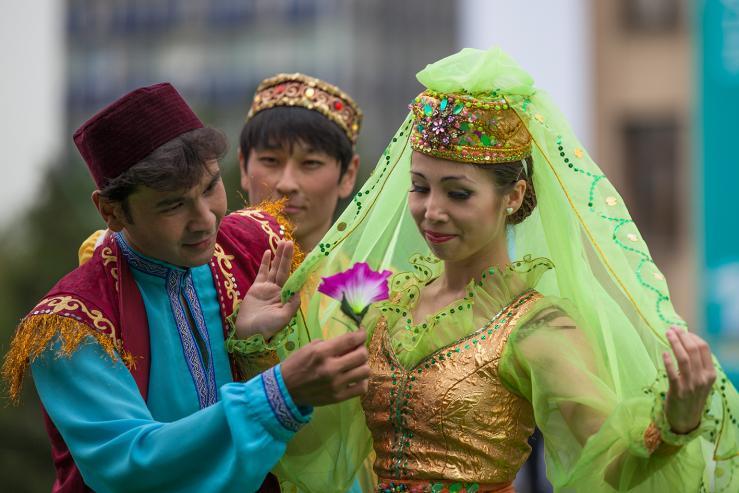 Площадь Астана, народное название - Старая площадь