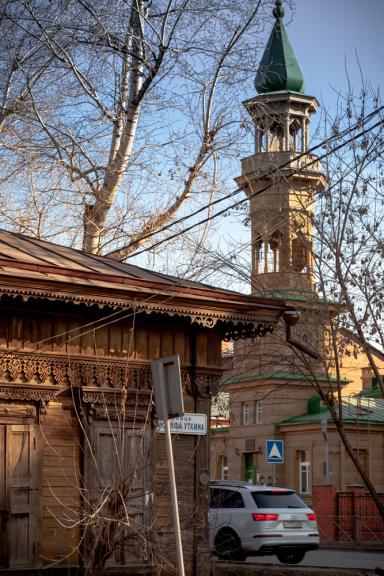Иркутская Соборная мечеть (джума-мечеть)