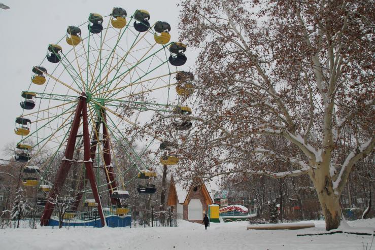 Детский парк Андриешь