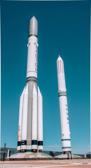 Музей космоса и макеты ракет-носителей