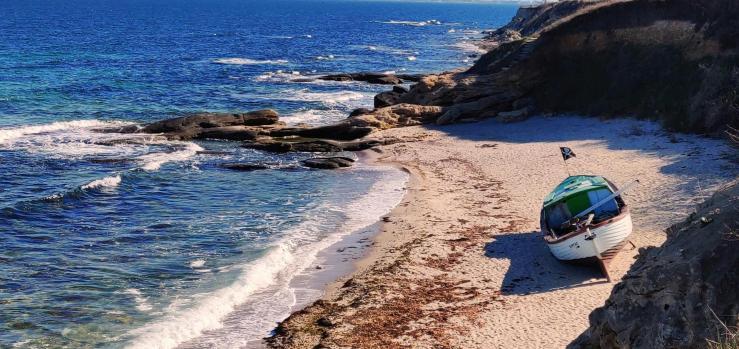 Равда, Южный пляж